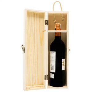 Wooden Box Wine Packaging (1 BTL)