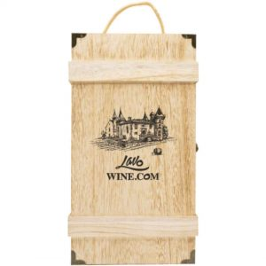Wooden Box Wine Packaging (2BTLS)