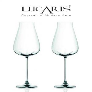 Lucaris Desire Collection Robust Red Wine Glass 2pcs