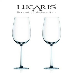 Lucaris Shanghai Soul Collection Bordeaux Wine Glass 2pcs